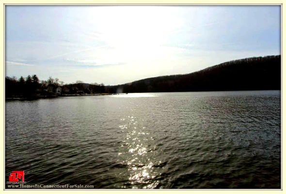 Be mesmerized by the scenic view outside this wonderful Danbury CT lakefront cottages for sale.