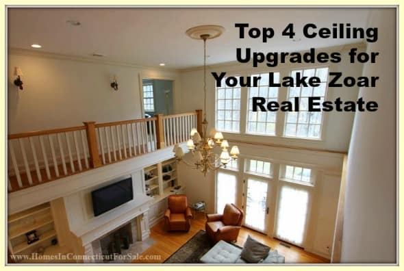 Here are ceiling upgrades for your Lake Zoar waterfront homes.