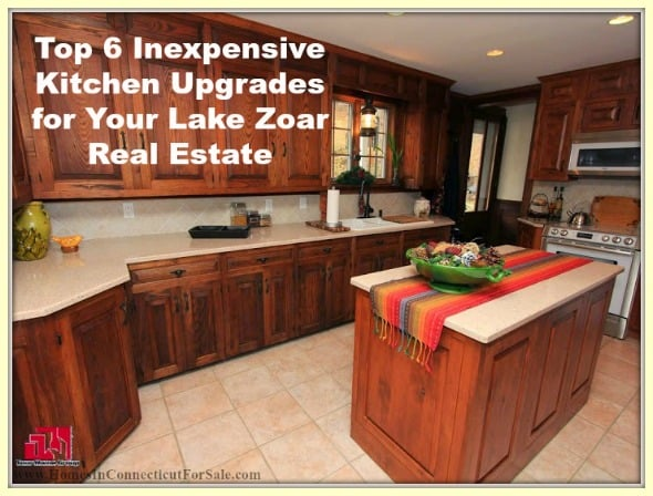Add more beauty to your Lake Zoar real estate, with these kitchen upgrades.