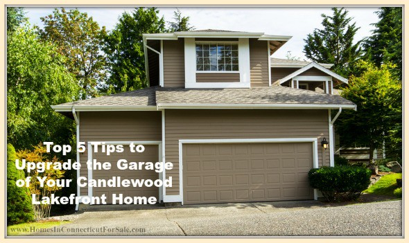 These are wonderful upgrades to enhance your Candlewood lakefront home's garage.
