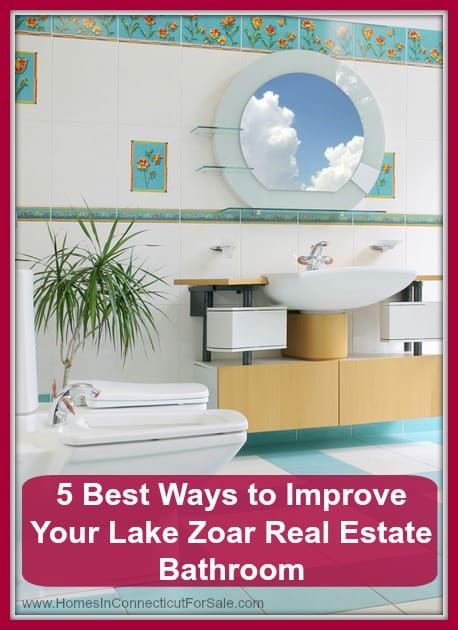 Check out how you can do an amazing makeover for the bathroom of your home in Lake Zoar!