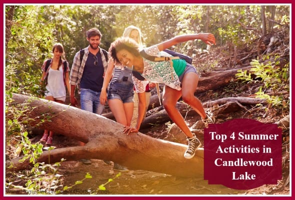 Enjoy these recreational activities when you live in one of the beautiful Candlewook Lake homes.