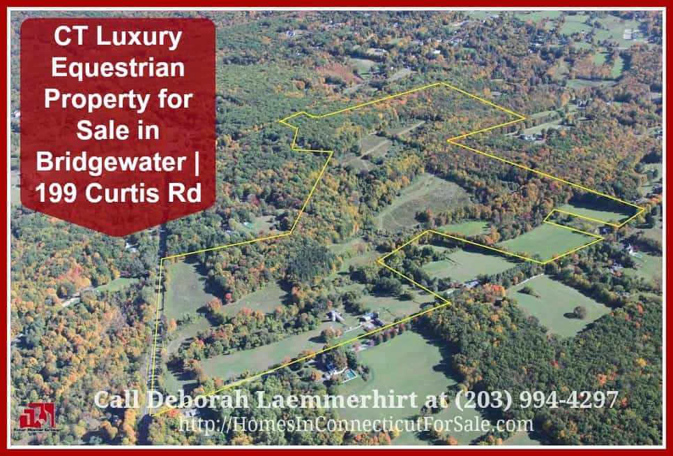 Your dream land is now within your reach in this luxury equestrian property for sale in Bridgewater CT.