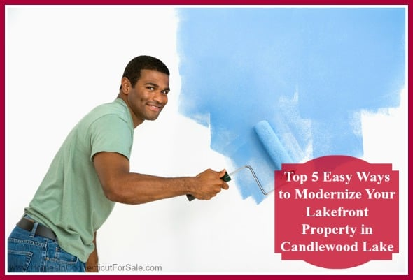 Make sure your lakefront property in Candlewood... creates a great impact by following these modernizing tips!