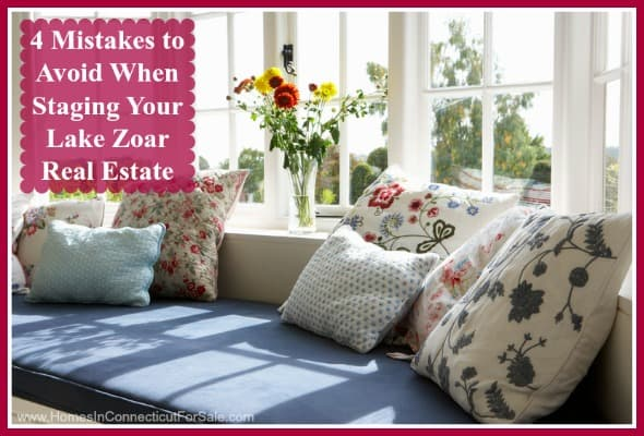 If you are planning to stage your Lake Zoar real estate for a quick sale, then be sure to avoid these common mistakes.