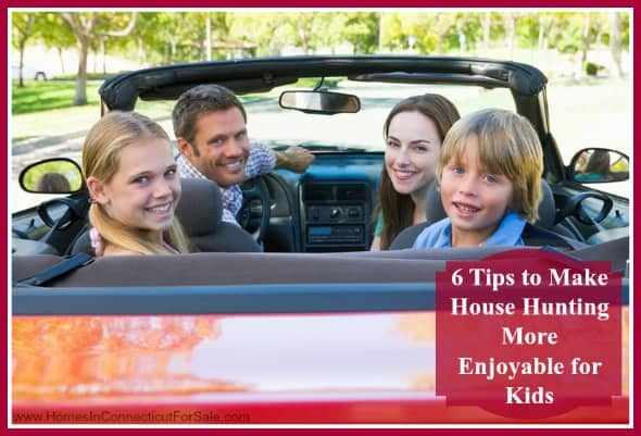 Enjoy the process of home hunting with your kids for your new Candlewood Lake home, follow these 6 tips!