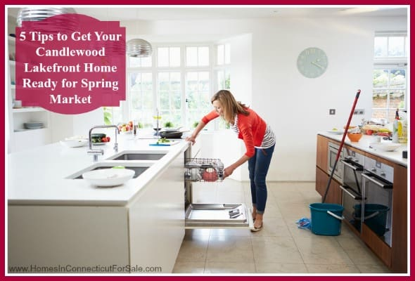 Prepare your Candlewood Lake home before putting it in the market this spring, here's how!
