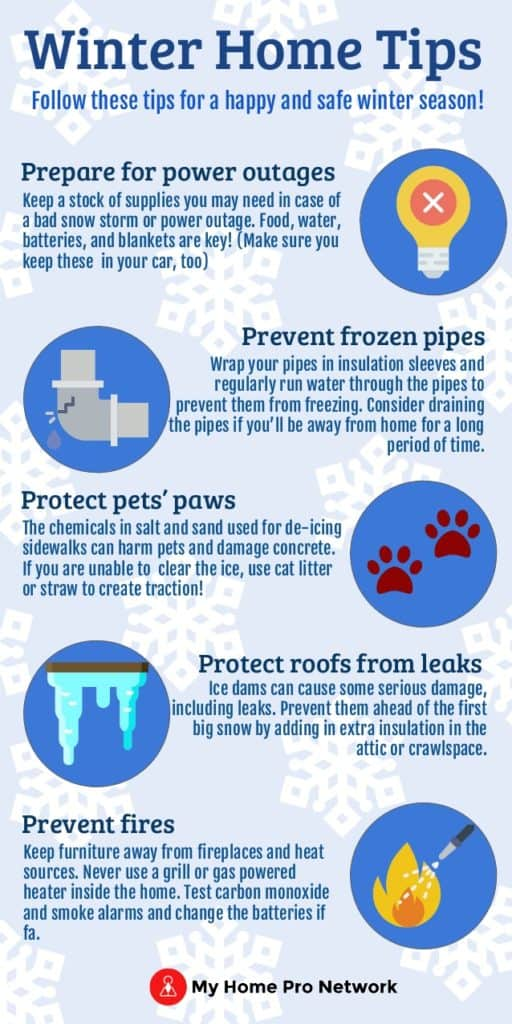 Winter Home Tip - Deborah Laemmerhirt 203-994-4297
