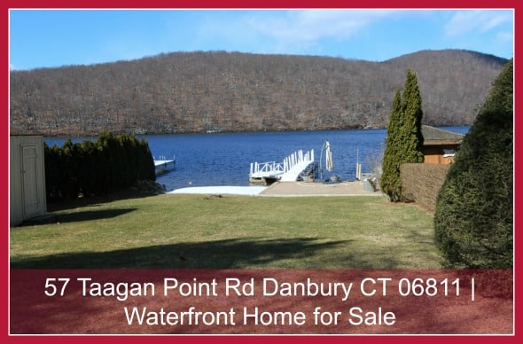 Homes in Danbury CT with Waterfront