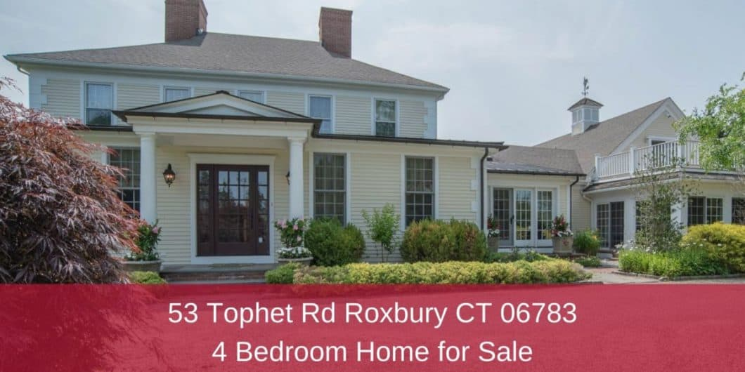 Country Homes for Sale in Roxbury CT